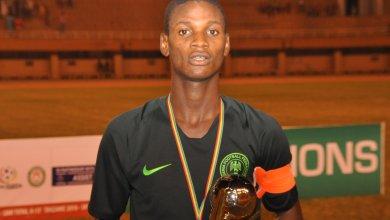 Photo of CAF names Golden Eaglets captain Samson Tijani Man of Match vs Angola