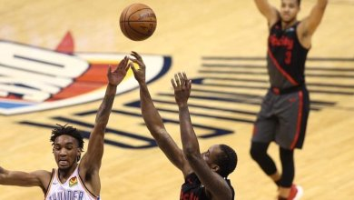 Photo of Al-Farouq Aminu's 19 points and hustle give Blazers 3-1 series lead against Thunder