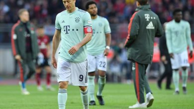 Photo of Nurnberg 1 Bayern Munich 1: Champions spared by late penalty miss