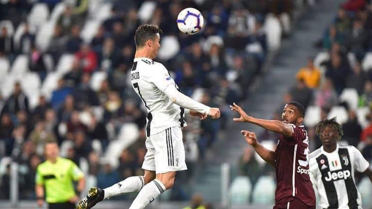 d0afb029262f9 VIDEO: Cristiano Ronaldo silences critics with land mark goal to deny  Torino a Derby della Mole victory
