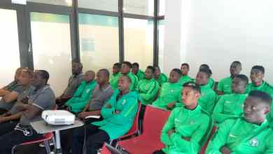 Photo of U20 World Cup: FIFA Briefs Flying Eagles On New Laws Of The Game