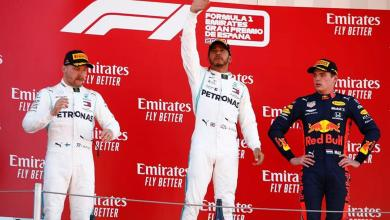 Photo of Hamilton beats Bottas to Spanish GP title as Mercedes matches F1's 1-2 record