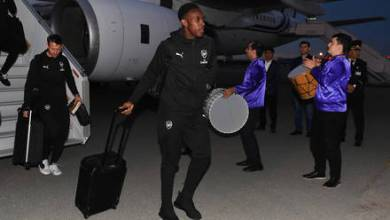 Photo of The Travelling Squad As Arsenal Arrive Baku Ahead Of UEL Final