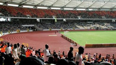 Photo of Athletes on trial at the MKO Abiola stadium for 2019 All African Games