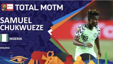 Photo of Nigeria 2 South Africa 1: Samuel Chukwueze named man of the match