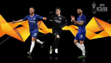 Photo of Hazard beats Giroud to Europa League best player award