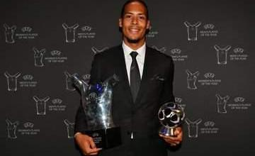 Photo of Van Dijk Is UEFA Player Of The Year