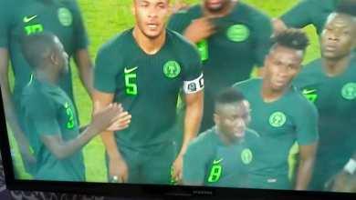 Photo of HT Ukraine 0 Nigeria 2: Eagles Super at half time in Dnipro-Arena