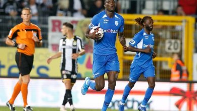 Photo of Paul Onuachu opens account with a flying header in Genk's away loss to Sporting Charleroi