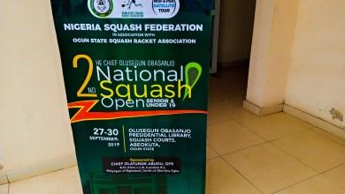 Photo of Squash: Sodiq Taiwo Reach Semifinal Of 2nd Chief Olusegun Obasanjo National Squash Open