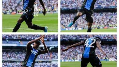 Photo of Dennis Bonaventure reveals how to take out Ramos-Varene; explains why he celebrated one of his goals at Bernabeu with Ronaldo's iconic siii celebration