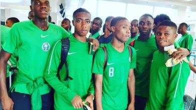 Photo of U17 World Cup: Eaglets Land In Gioania As FIFA Formally Welcomes Team