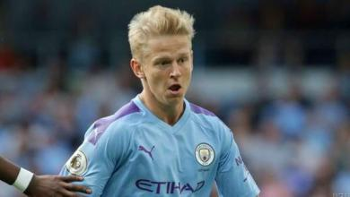 Photo of Man City's Zinchenko Out For Five Weeks