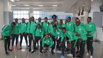 Photo of CHAN Qualifier: Super Eagles Arrive Lagos For Togo Clash
