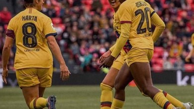 Photo of Watch Asisat Oshoala's 10 minutes brace FCB Femeni 3-0 at Athletic Club