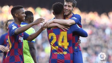Photo of VIDEO: Griezmann, Messi, Fati, Firpo and Roberto combined for Barcelona 2nd goal in 2-1 win against Getafe