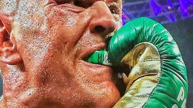 Photo of Fury didn't wear gum shield & gloves customized with Nigeria's flag to call out Joshua – this is the main reason he did it
