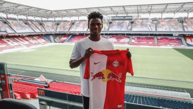 Photo of Samson Tijani joins Red Bull Salzburg from SC Collins Edwin until 2025