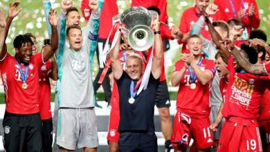 Photo of Hans-Dieter Flick turns 4th placed Bayern to a treble winners