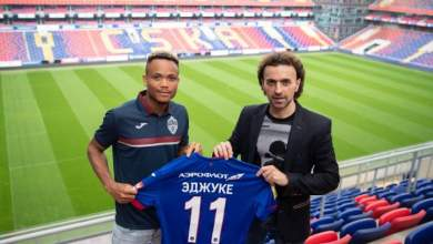 Photo of Chidera Ejuke links up with Sylvester Igboun in Russia