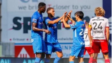 Photo of Onuachu, Dessers on target as Genk secure a 2-1 comeback win against Zulte Waregem