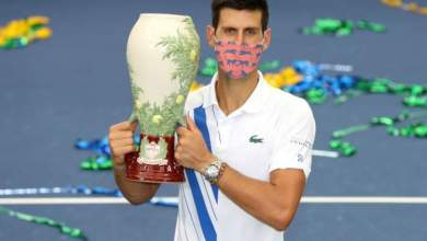 Photo of Djokovic beats Raonic to win record-equalling 35th ATP Masters 1000 title in New York