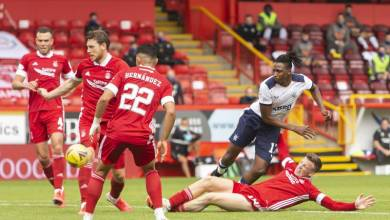 Photo of Rangers pip Aberdeen in the battle of four Nigerian stars