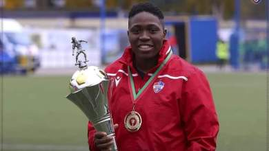 Photo of Emueje Ogbiagbevha wins UEFA Women's Champions League top scorer award