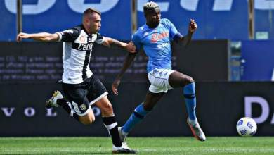 Photo of VIDEO: Victor Osimhen scores first goal for Napoli