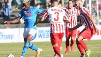 Photo of VIDEO: Watch as Victor Osimhen scores another pre-season hat-trick in Napoli win