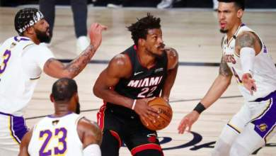 Photo of Miami Heat, Hornets stun Lakers, Warriors in NBA