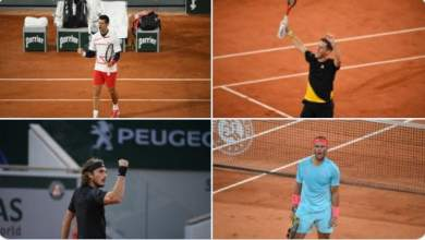 Photo of 2020 French Open Wrap: Nadal to play Schwartzman as Djokovic battles Tsitsipas in the semis