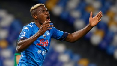 Photo of Osimhen doubtful for Napoli's clash with AC Milan