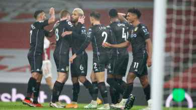 Photo of Aston Villa beat Arsenal 3-0 to join clubs with most PL wins at Emirates Stadium