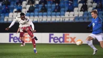 Photo of Balogun Folarin gets first senior goal with first attempt for Arsenal