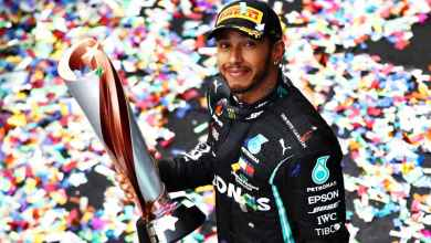 Photo of Lewis Hamilton wins Turkish GP to claim record equalling 7th World Championship title.