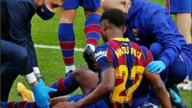 Photo of Ansu Fati to undergo knee surgery