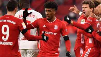 Photo of Bayern Munich 3-3 RB Leipzig: Muller double denies visitors top spot
