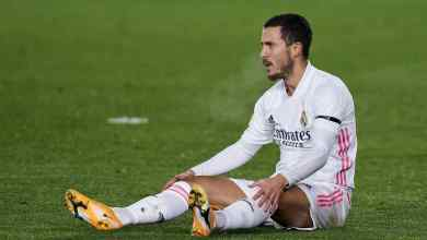 Photo of Madrid confirm Hazard's injury to his rectus femoris muscle in his right thigh