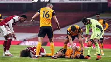 Photo of Jimenez hopes to return 'soon' from fractured skull as Wolves star provides update