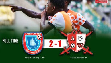 Photo of Abia Warriors reach unwanted 10 as they lose to Akwa United
