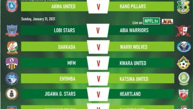 Photo of Abia Warriors in must-win Lobi tie, Rivers United look to bounce back against Adamawa United: NPFL Matchday 7 Preview