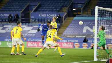 Photo of VIDEO: Kelechi Iheanacho injury-time header fires Leicester City to FA Cup last 8