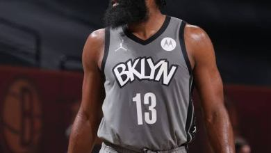 Photo of Harden returns to lead Nets to win over Pistons
