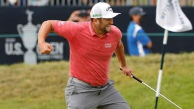 Photo of Jon Rahm pips Louis Oosthuizen US Open glory for first major title