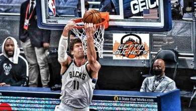 Photo of Lopez steps up in Antetokoumpo absence to give Bucks win over Hawks in Conference final