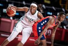 Photo of Valiant D'Tigress falls to USA in Olympic Games opener