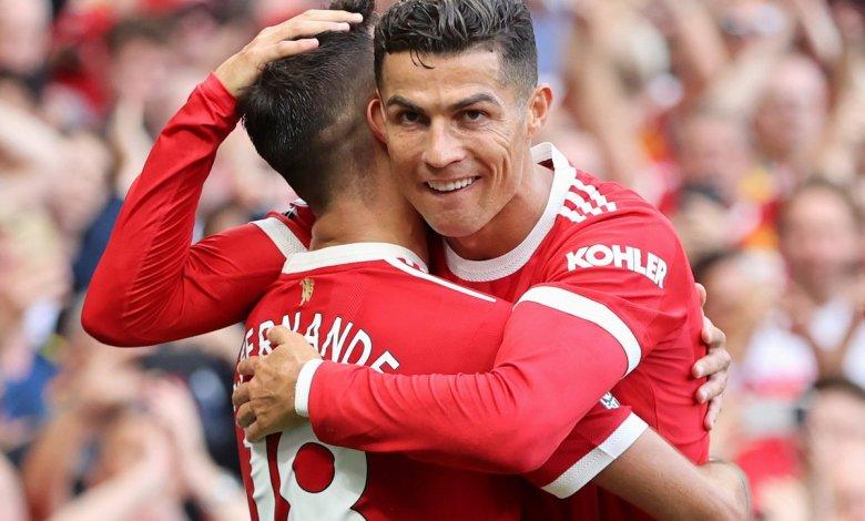 Premier League Player of the Month Cristiano Ronaldo