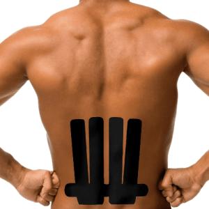 Kin tape - low back pain
