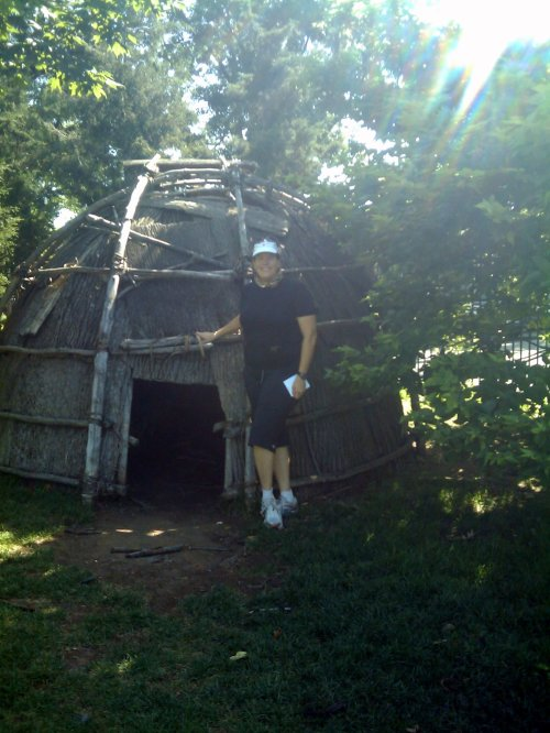 Wigwam at Inwood Hill Park